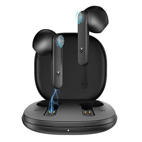 Kabellose Kopfhörer, Bluetooth kopfhörer in Ear, mit Mikrofon und Berührungssteuerung. IPX5 Wasserdicht Sport Kopfhörer, 20 Std, Bluetooth 5.1 Kopfhörer für Alle Smartphone