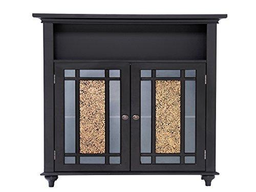 Elegant Home Fashions Whitney Double Door Floor Cabinet