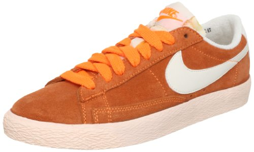 new style 1db3d 9d3f1 Nike Blazer Low Suede VNTG 517371800, Women s Trainers Orange Size  5   Amazon.co.uk  Shoes   Bags