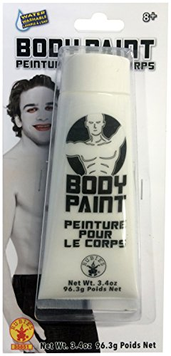 Rubie's Costume CO Men's Body Paint, White, One Size