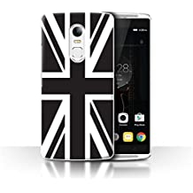STUFF4 Phone Case/Cover for Lenovo Vibe X3/Union Jack Flag Design/Great Britain/British Pride Collection