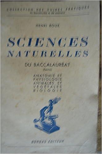 Ebook ebook télécharger sciences naturelles du baccalaureat B003OS2SZA PDF