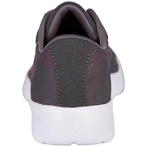 Anthra Kappa Grau Damen Unisex 1322 Delhi Footwear Pink Sneakers Mesh xxF7Saqw
