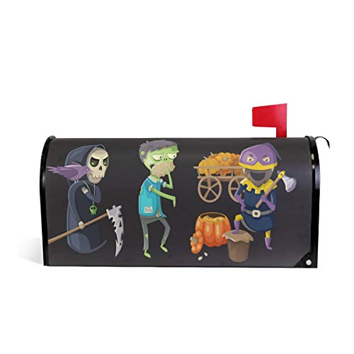 WOOR Costumes and Haloween Magnetic Mailbox Cover Standard Size-18