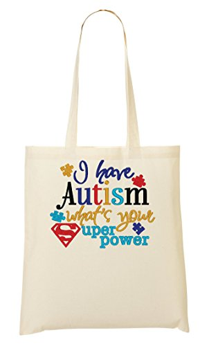Super Bolso Bolsa Mano La Your Autism Power What's Have I De Compra De ZwBOxqAB