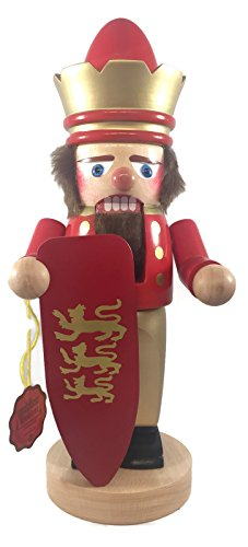 Steinbach Nutcrackers Chubby King 12 Inches Tall Kurt Adler Brand New Hand Made in Germany (Signed Steinbach Kings)