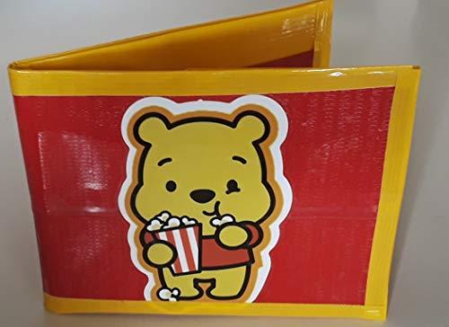 Winnie the Pooh Bi-Fold Duct Tape Wallet