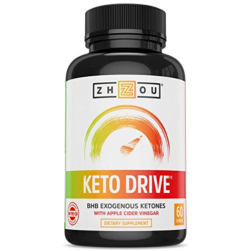 Keto Drive BHB Capsules - Exogenous Ketones Performance Complex - Formulated for Ketosis