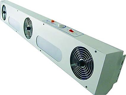 3 ventiladores, eliminador estático, soplador de aire ionizante ...