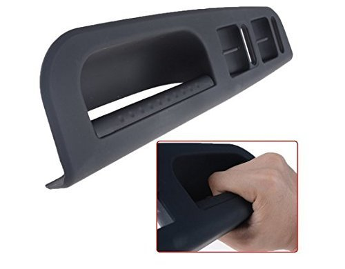 Black OEM Front Master Window Console Switch Left Driver Side Handle Trim Set for VW 98-05 Passat B5 98-04 Jetta Goft MK4 (Side Handle Trim)