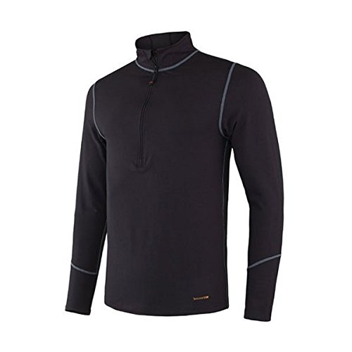 Terramar Men's Thermolator II 1/2 Zip,Black,X-Large