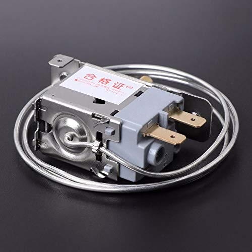 Details about  /4A//5A 50//60Hz AC250V 2 Pins Temperature Thermostat Refrigerator for WPF22-L AC .