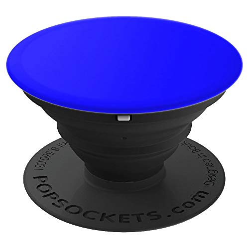 - Royal Blue Solid Color pop socket - PopSockets Grip and Stand for Phones and Tablets