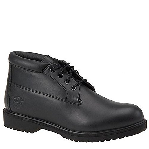 Timberland Mens Premium Waterproof Chukka Black Smooth Boot - 10 W