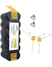 Bateria TATTU iRobot Roomba, 4500 mAh 14,4 V NiMH do odkurzacza iRobot Roomba seria 500, 600, 700, 800, R3, 80501, 4419696, Scooba 450