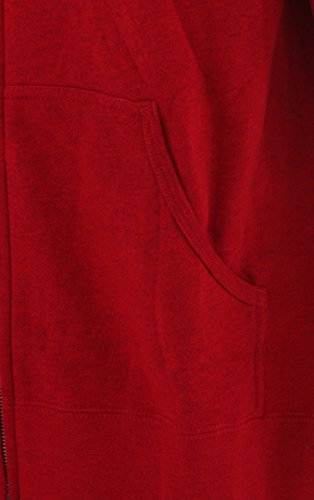 K2Triangle Logo Zip Hoodie Red Heather