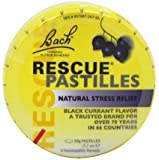 Bach Rescue Remedy Pastilles Black Currant, 1.7 oz ( 2 Pack)