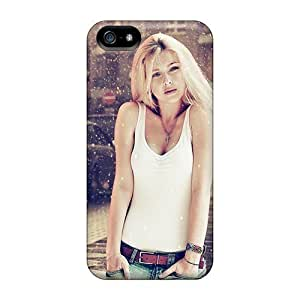 High Quality LastMemory Girl Waterdroplets Skin Case Cover Specially Designed For Iphone - 5/5s