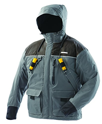 Frabill I2 Jacket, Dark Grey, Large