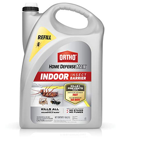 Ortho Home Defense Max Indoor Insect Barrier: Refill, Starts Killing Ants, Roaches, Spiders, Fleas and Ticks Fast, Use…