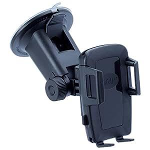 IGRIP T5-1263 XTENDER Kit - solución de montaje universal con brazo extra larga para todos los teléfonos inteligentes - perfecto para camiones, camionetas, casas rodantes, y más. [5 años de garantía | Made in Germany | 360 grados | sin vibraciones]