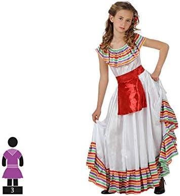 Atosa-19636 Atosa-19636-Disfraz Mejicana-Infantil 5 a 6 años- Niña ...