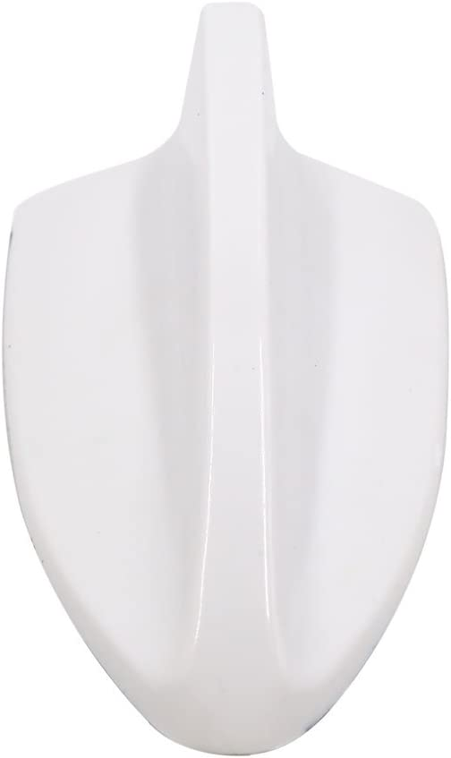 uxcell Shark Fin Style Auto Car Roof Decorative Radio Signal Aerial Antenna White