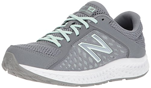 New Balance Women's 420v4 Cushioning Running Shoe, Grey, 9 W US