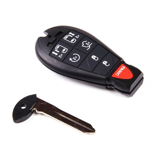 new-keyless-entry-fob-remote-smart-key-shell-case-dual-power-sliding-door-and-remote-start-with-butt