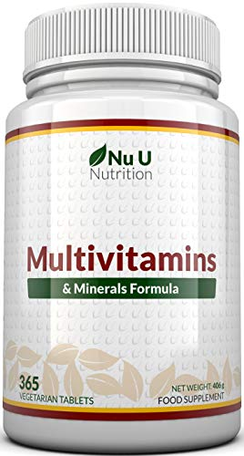 🥇 MultiVitamins & Minerals Formula | 24 complemento vitamínico