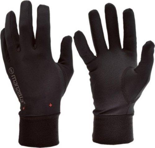 Manzella Liner Glove - Manzella Mens ULTRA MAX Glove, Black, Small/Medium