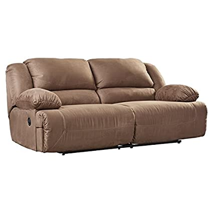 Delicieux Two Seat Reclining Sofa Footrest Reclines All The Way Up Upholstery  Material Is Microfiber Supremely Padded