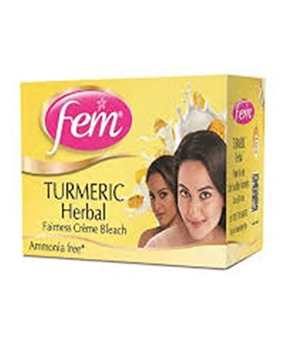 Fem New Turmeric Herbal Fairness Creme Bleach Creme