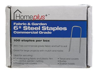 Home Plus ACE7211675 Fabric And Garden Staples, 6""