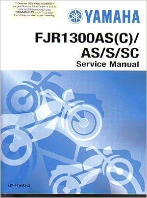 Yamaha fjr1300 2009 workshop service manual tradebit.