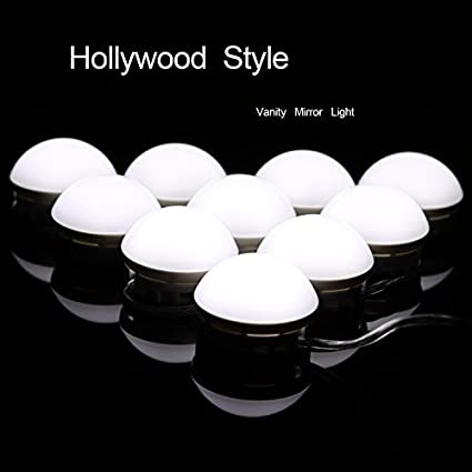 Review Hollywood Vanity Mirror Lights