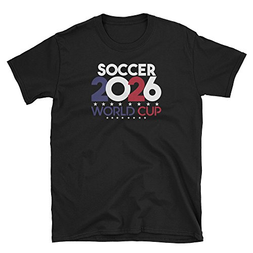 Mechali Products Hosting Country USA FIFA Soccer World Cup 2026 Short-Sleeve T-Shirt.