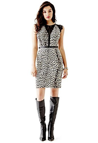 cheetah bodycon dress - 8