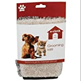 e-cloth Pet Grooming Mitt white