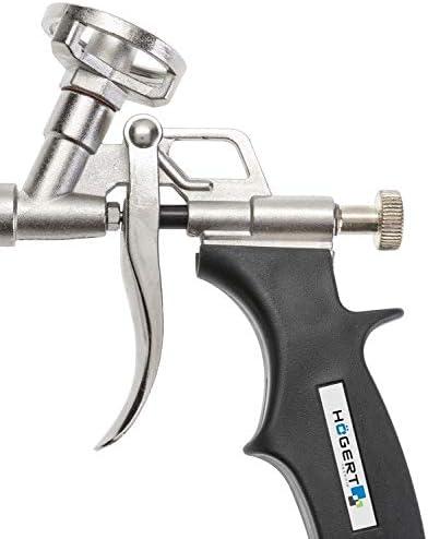 CGC Pistola de montaje de espuma de alta calidad de aluminio alem/án profesional herramienta para el sellado de aislamiento y el trabajo de llenado de huecos