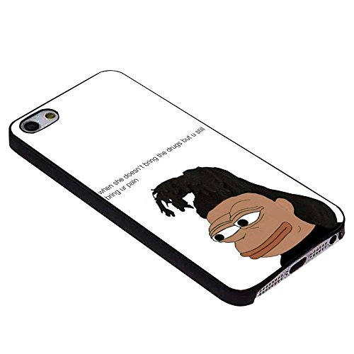 Pepe The Weeknd for iPhone Case (iPhone 6s plus black)