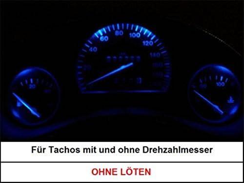Opel Vectra B LED Tachobeleuchtung Tacho Cockpitbeleuchtung weiß rot blau grün