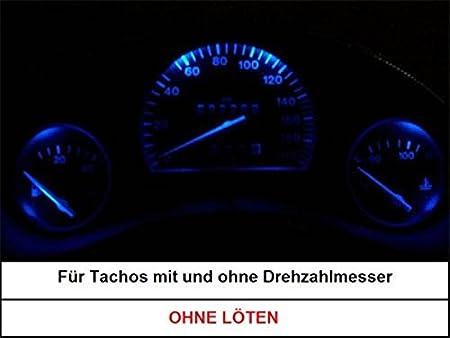 2x LED Innenraumbeleuchtung Blau Rot Grün Opel Corsa B Corsa C Corsa D