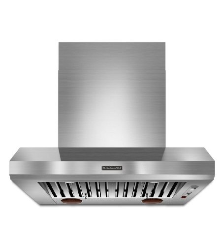 Kitchenaid KXW9736YSS 36-Inch Commercial-Style Series Wall-Mount Canopy (Commercial Style Hood)