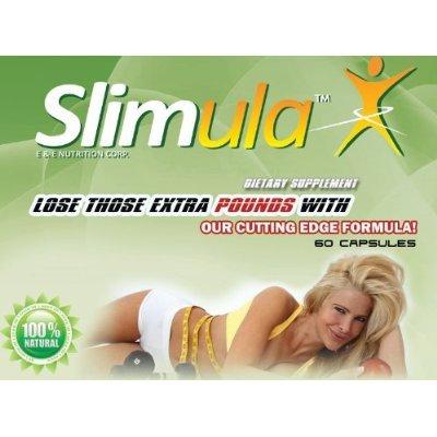 Diet Pills, Slimula Perdez jusqu'à 20 livres en seulement 4 semaines! 60 supplément diététique, minceur capsules.