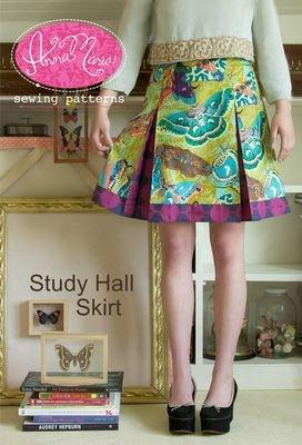 (Anna Maria Horner Study Hall Skirt AMH-004)