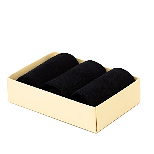 Women's Low Cut Socks, 3 Pairs Pack. Seamless Fit, Fine Combed Cotton, Reinforced Sole by iNicety (Image #2)