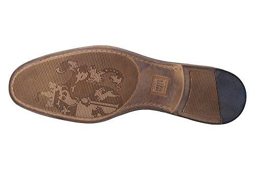 FRETZ men Tosco, Zapatos de Cordones Derby para Hombre Azul