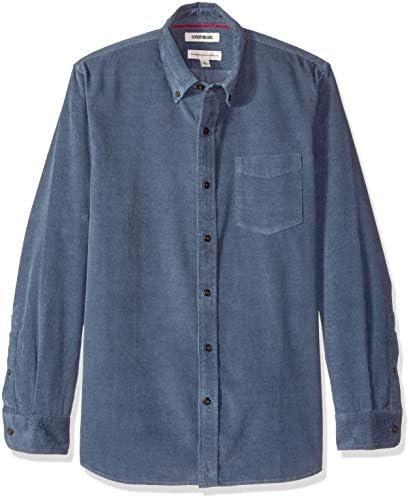 Marca Amazon - Goodthreads – Camisa de pana de corte estándar de manga larga para hombre: Amazon.es: Ropa y accesorios