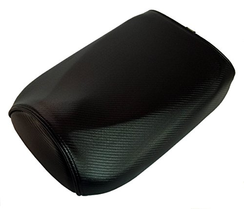 Honda Ruckus Black Carbon Fiber with Piping Seat Cover (Black Piping) (Piping Seat)